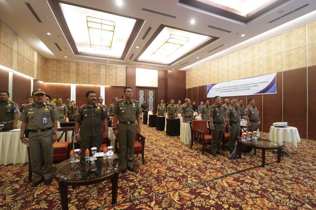Rakernis II Satpol PP se-Kalimantan Tengah Tahun 2018