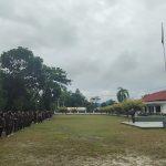 Jaga Kebugaran, Satpol PP Provinsi Kalteng Gelar Olahraga Pagi dan Gotong-Royong Membersihkan Markas Komando Satpol PP