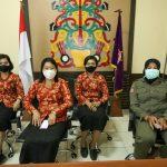 DWP Satpol PP Provinsi Kalteng Ikuti Acara Halal Bihalal Idul Fitri 1441 H Secara Virtual