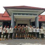 Kunjungan Kerja Satpol PP Kabupaten Martapura Ke Satpol PP Provinsi Kalteng