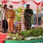 Gubernur Kalteng Pimpin Apel Gelar Pasukan dan Sarana Prasarana  Pengendalian Kebakaran Hutan dan Lahan di Provinsi Kalteng
