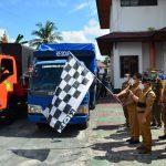 Kasat Pol PP Provinsi Kalteng Hadiri Peluncuran Penyaluran Bansos Bagi Masyarakat Kalteng Terdampak Banjir